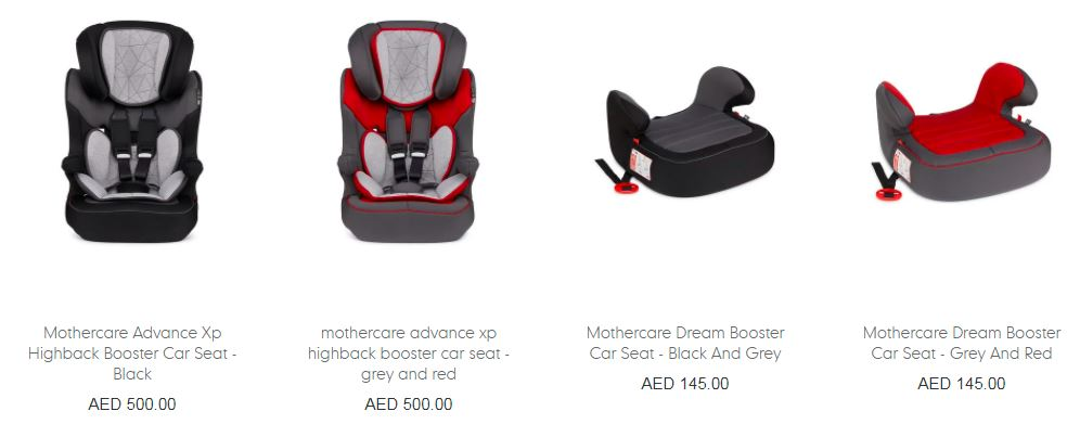 Mothercare_Baby_Car_Seats_Details