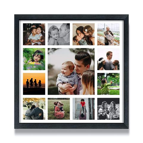 Personalized photo collage
