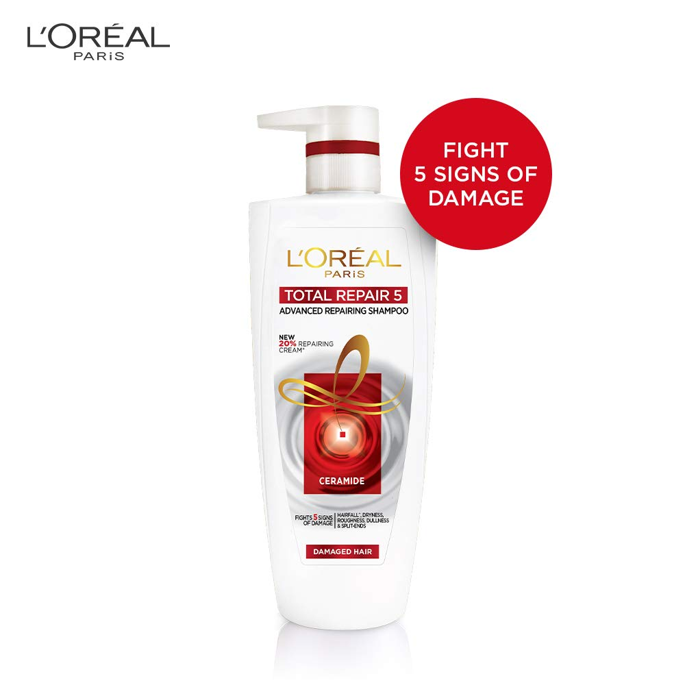 L'oreal shampoo fights 5 signs of damage